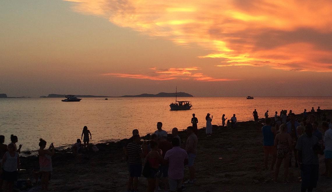 I tramonti a Ibiza