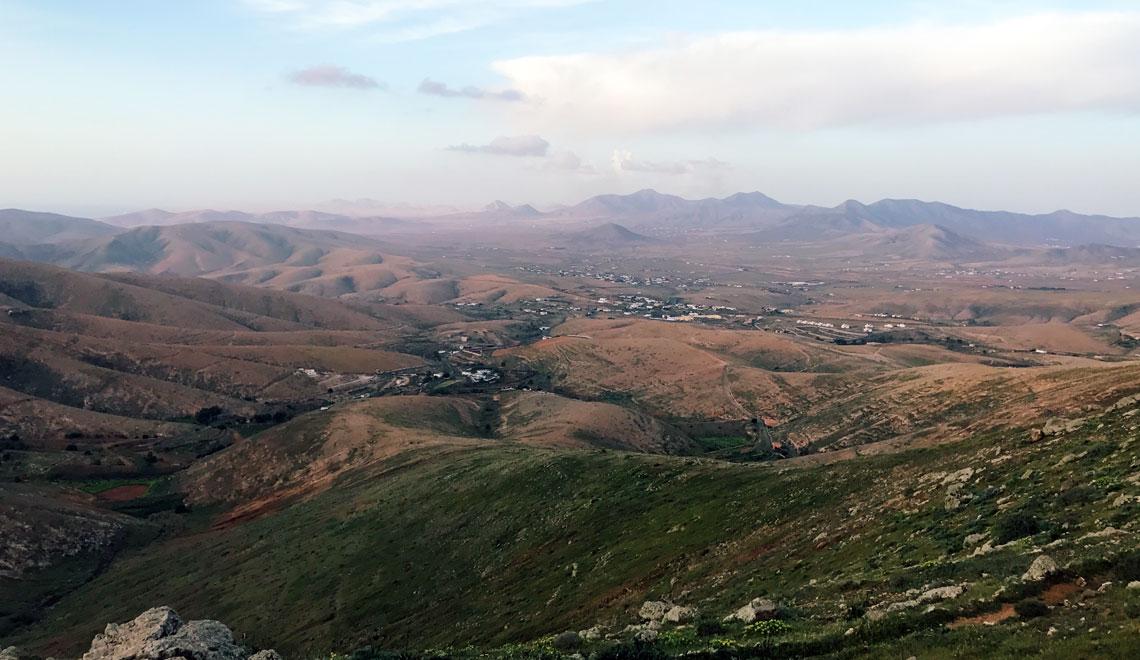 Fuerteventura panorama strada panoramica FV-30