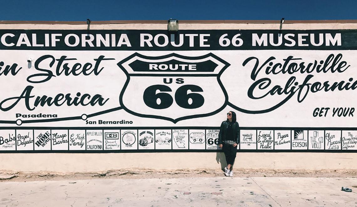 Il mio viaggio in California - Victorville - California Route 66 Museum