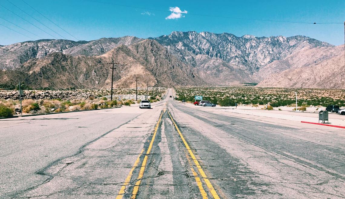 Il mio viaggio in California Palm Springs