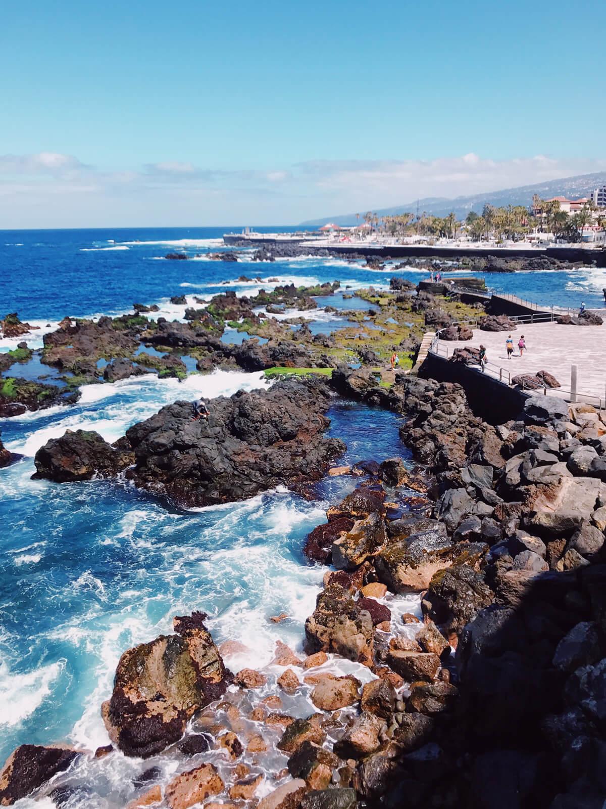 Una settimana a Tenerife Puerto della Cruz Playa de San Telmo